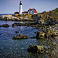 Portland Headlight 37 Oil by Mark Myhaver