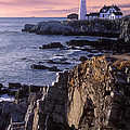 Portland Headlight Maine by Dave Mills