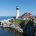 Portland Lighthouse 2 by Allen Beatty