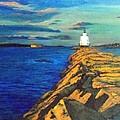 Portland Maine Harbor by William Tremble