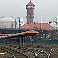 Portland Oregon Union Station Train Station by Elizabeth Rose