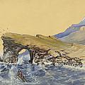 Portland Point Natural Bridge Circa 1862 by Aged Pixel