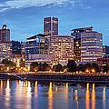 Portland Skyline Pm2 by Brian Jannsen
