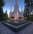 Portland Temple by Dustin  LeFevre