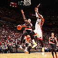 Portland Trail Blazers V Miami Heat by Nathaniel S. Butler