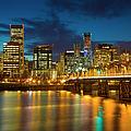 Portland Twilight by Brian Jannsen