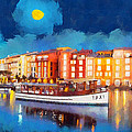 Portofino By Night by George Rossidis