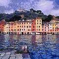 Portofino In Italy by George Atsametakis