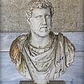 Portrait Bust Of The Emperor Antoninus Plus by Radoslav Nedelchev