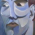 Portrait In Blue by Aaron Joslin