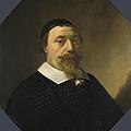 Portrait Of A Bearded Man by Aelbert Cuyp