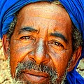 Portrait Of A Berber Man  by Ralph A  Ledergerber-Photography