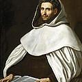 Portrait Of A Carmelite by Luis Tristan de Escamilla