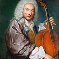 Portrait Of A Cellist by Giacomo Ceruti