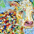 Portrait Of A Cow by Karen Tarlton