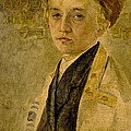 Portrait Of A Jewish Boy  by Isidor Kaufmann