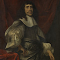 Portrait Of A Man, Thought To Be Christoffel Van Gangelt by Litz Collection
