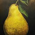 Portrait Of A Pear by Terri  Meyer