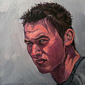 Portrait Of A Teenager With Attitude by Christine Montague