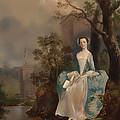 Portrait Of A Woman by Mountain Dreams