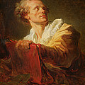 Portrait Of A Young Artist by Jean-Honore Fragonard