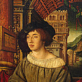 Portrait Of A Young Man by Ambrosius Holbein