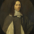 Portrait Of A Young Man In Grey by Abraham Raguineau