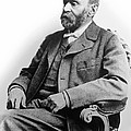 Portrait Of Alfred Nobel by Underwood Archives