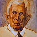 Portrait Of An Older Man by Greta Corens