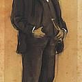 Portrait Of Arcadi Mas I Fondevila by Ramon Casas