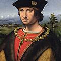 Portrait Of Charles Damboise 1471-1511 Marshal Of France Oil On Panel by Antonio da Solario