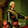 Portrait Of Charles IIi 1716-88 C.1761 Oil On Canvas by Anton Raphael Mengs