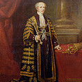 Portrait Of Colonel Sir Samuel Wilson, Lord Mayor Of London, 1838 Oil On Canvas by Charles Martin