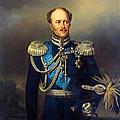 Portrait Of Count Alexander Benkendorff by Georg Bottman