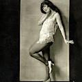 Portrait Of Dancer Ann Pennington by Charles Sheeler