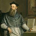 Portrait Of Daniele Barbaro by Paolo Caliari Veronese