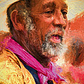 Portrait Of Dr. Luv - Painting by Kathleen K Parker