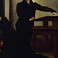 Portrait Of Eduard Gans 1829 by Wilhelm Hensel