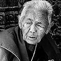 Portrait Of Elderly Woman by Kedar Munshi