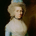 Portrait Of Elizabeth Caldwell by Gilbert Stuart