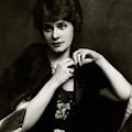 Portrait Of Elsie Ferguson by Arnold Genthe