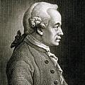 Portrait Of Emmanuel Kant by French School