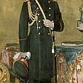 Portrait Of Emperor Nicholas II 1868-1918 1895 Oil On Canvas by Ilya Efimovich Repin