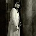 Portrait Of Erich Von Stroheim by Edward Steichen