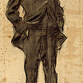Portrait Of Ezequiel Boixet by Ramon Casas