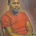 Portrait Of Felly 2 by Raija Merila