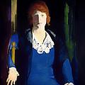 Portrait Of Florence Pierce by Mountain Dreams