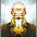 Portrait-of-george Washington Vert  2  by Zac AlleyWalker Lowing