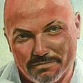 Portrait Of Jamez Ronald Prudlick by Ron Richard Baviello