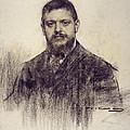 Portrait Of Jaume Carner by Ramon Casas